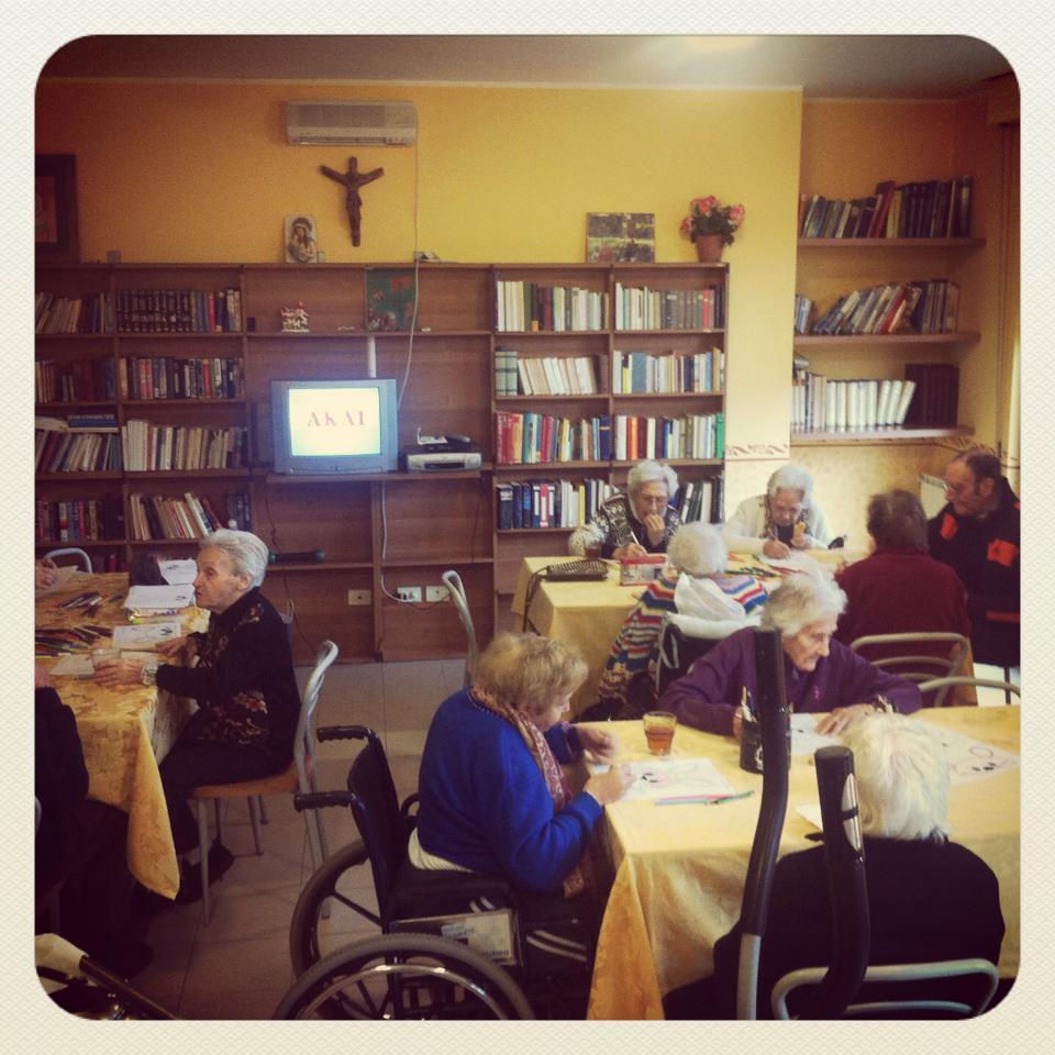 Casa di riposo per anziani e spazi comuni domus santa rita for Case di riposo per anziani
