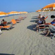 spiaggia privata per anziani